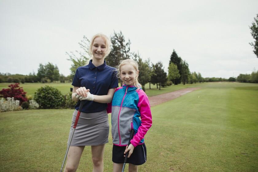 Golfing Sisters  - Junior Golf