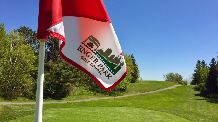 Enger Park Golf Course, Flag
