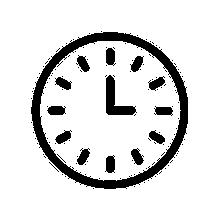 clock hours icon
