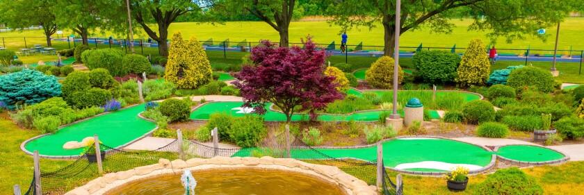 Harry Semrow Mini Golf Course