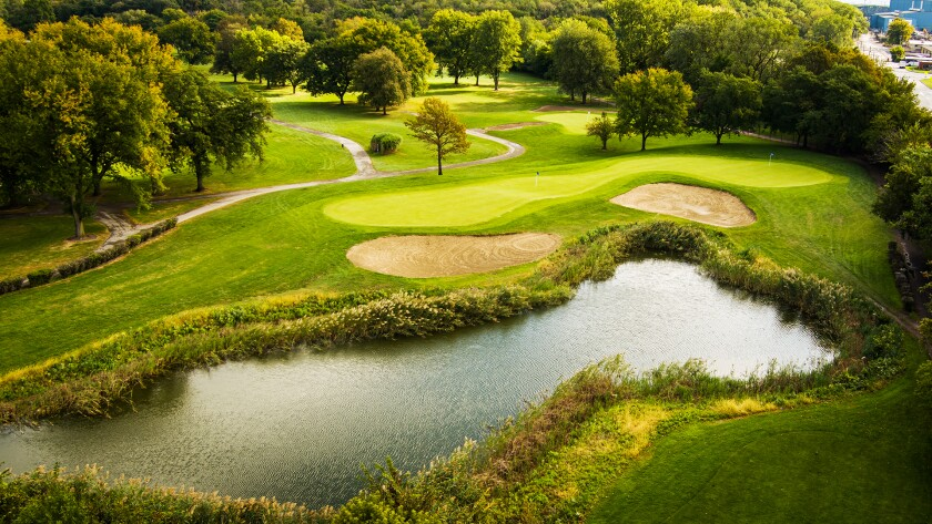 Joe Louis Golf Course in Riverdale, Illinois
