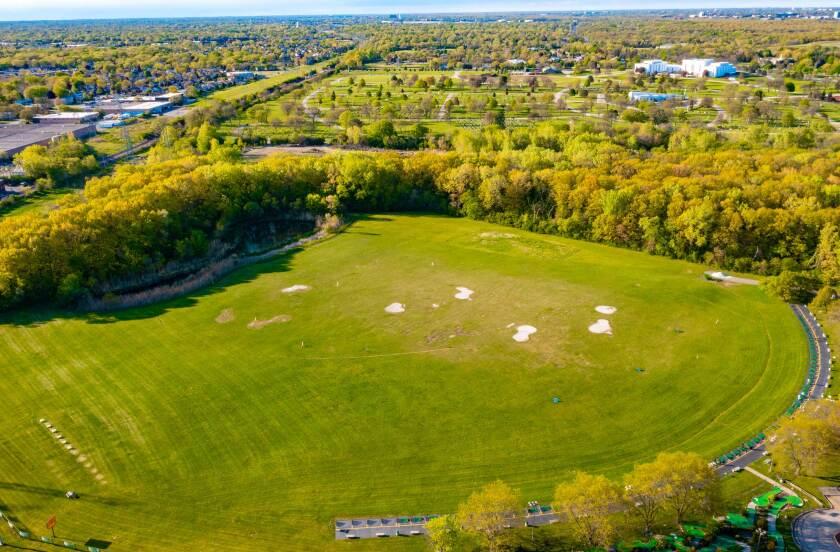 Harry Semrow Overhead Facility Drone Photography