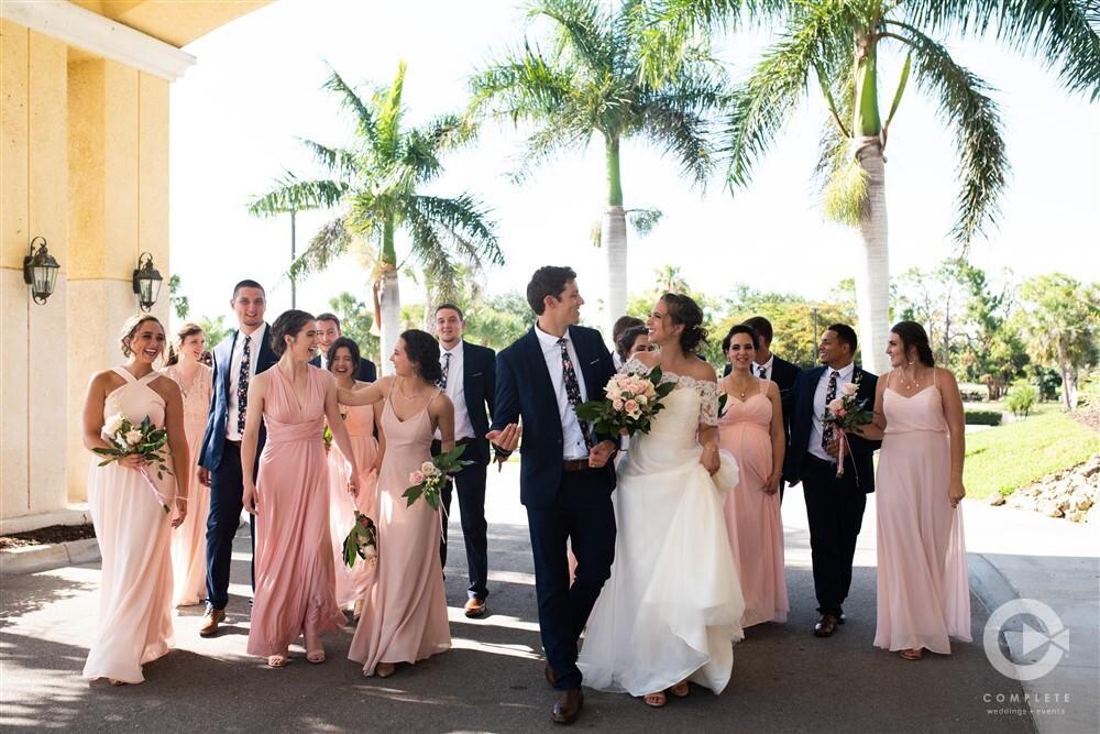 weddings at Spanish Wells Golf and Country Club in Bonita Springs, Florida