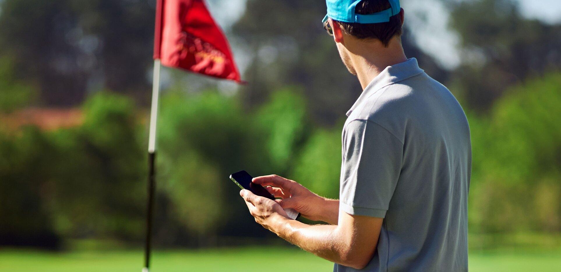 Mobile Phone, Mobile Golf App