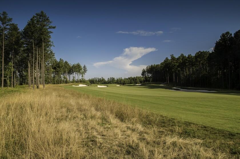 Magnolia Green Golf Club, Hole 9, Richmond VA Golf Course
