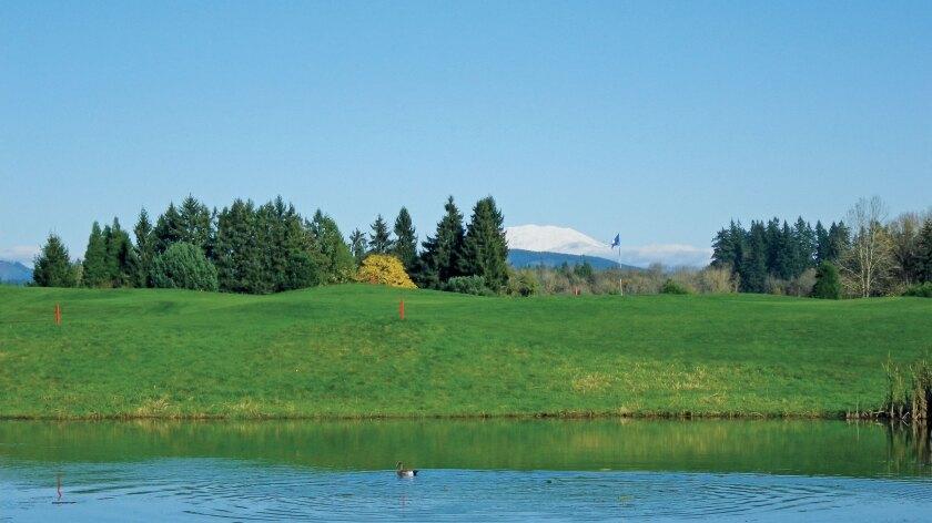 Tri-Mountain Golf Course, Ridgefield Washington