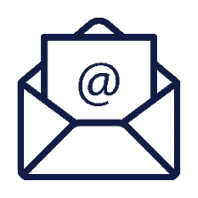 contact us icon for email