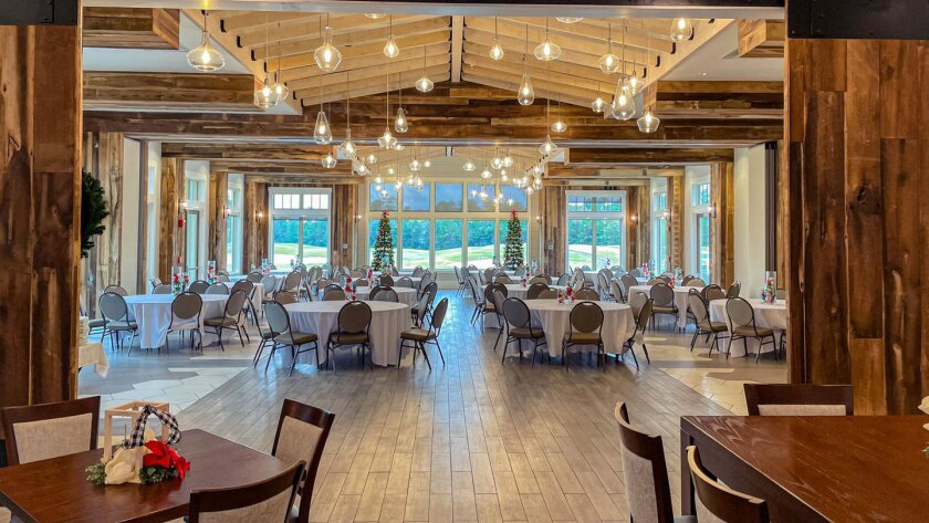 Holiday Parties at The Bridge, our newly renovated restaurant and event facility
