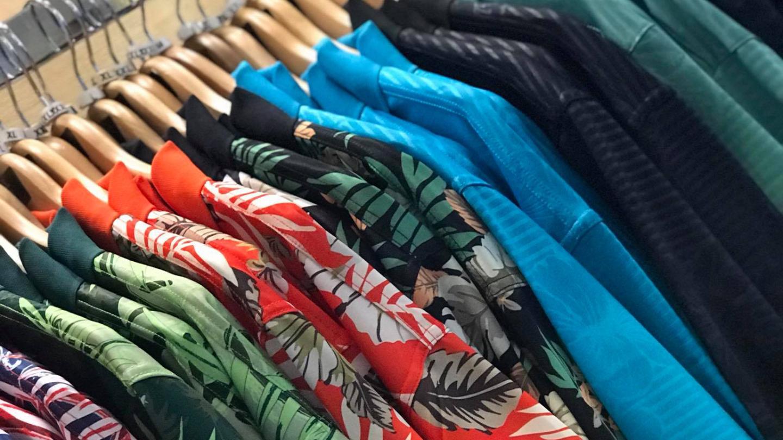 golf shop shirts at Ocean Course at Hōkūala