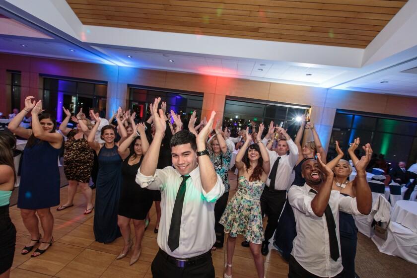 Wedding Party Reception at Centennial Park Banquet Party