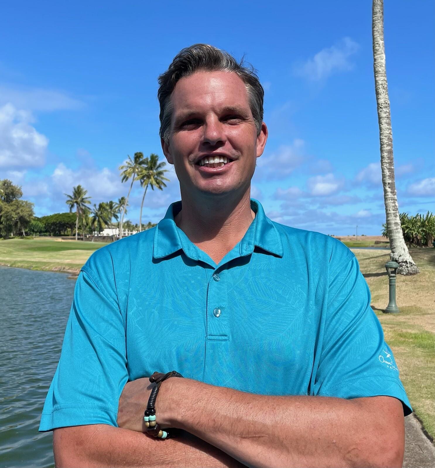Thomas Freestone PGA Director of Operations at Ocean Course Hokuala
