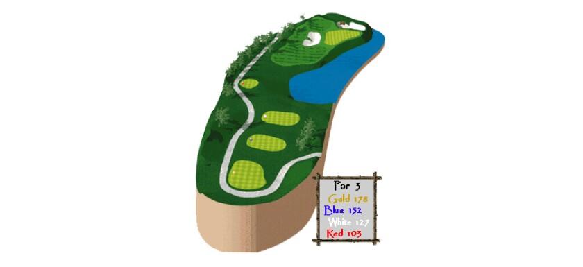 The Ridge Golf Course - Hole description