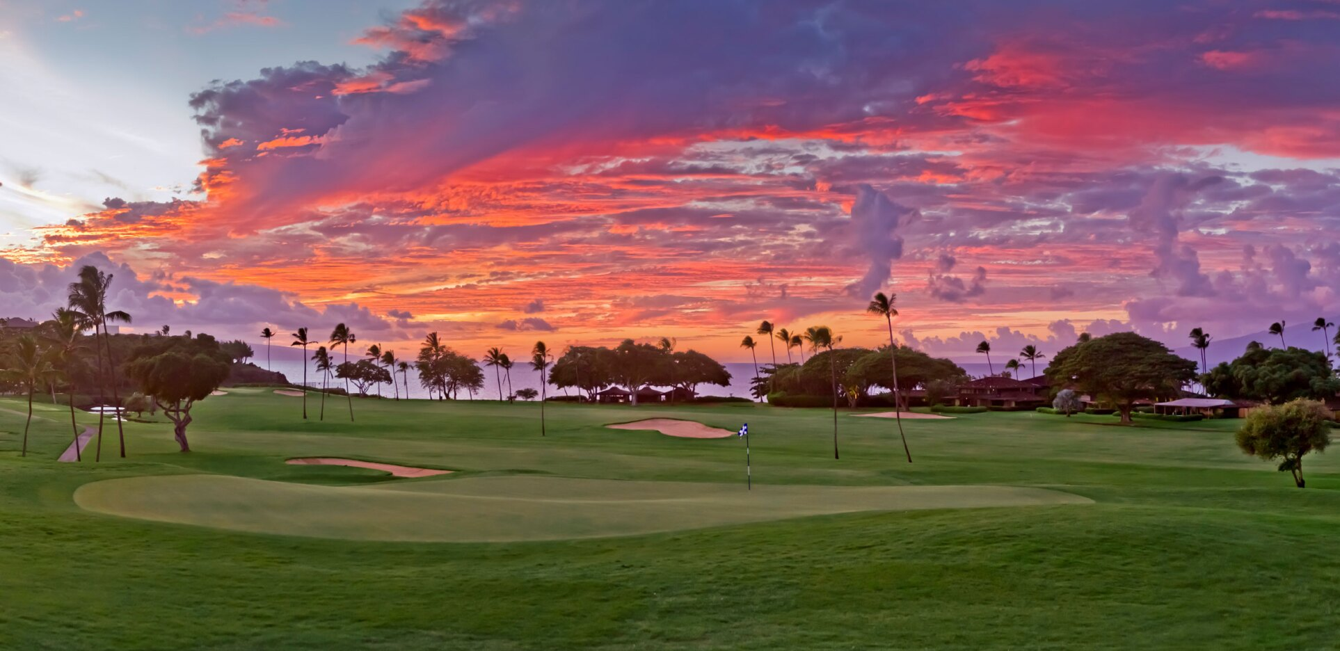Royal Ka'anapali Golf Course - Hole 4 Sunset