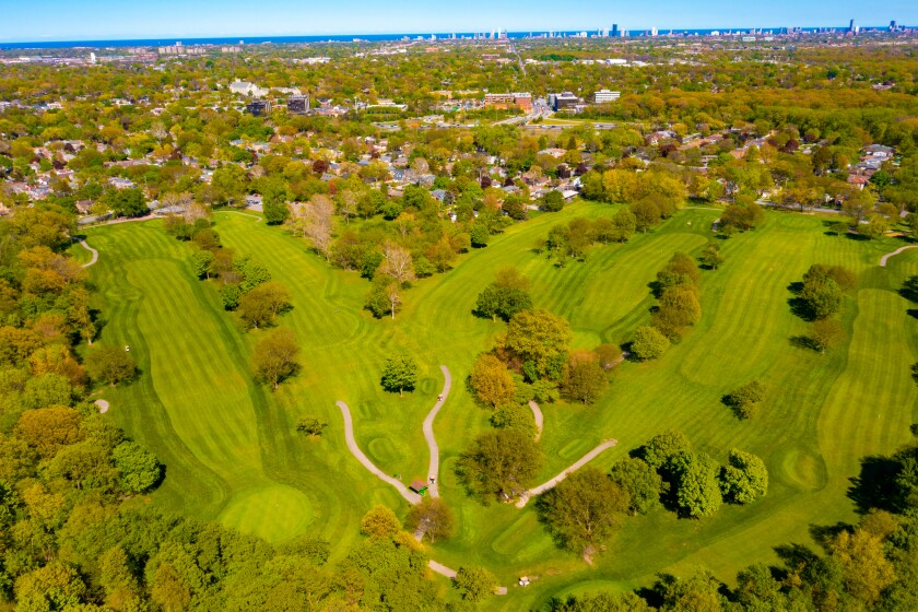 Billy Caldwell Overhead Golf Course Drone Photography