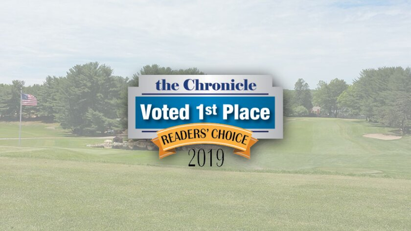 The Windham Club Voted 1st Place, Readers Choice, Best Golf Course, The Chronicle - 2019