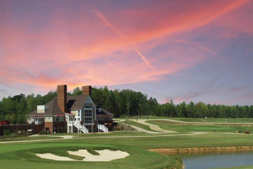 Brickshire Golf Club located in Providence Forge, Virginia