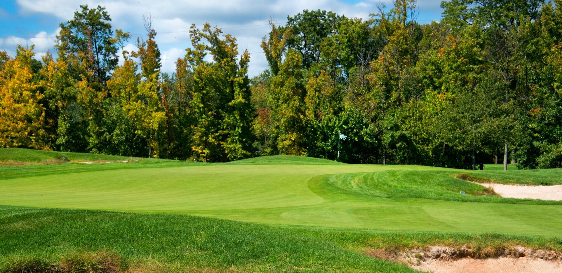 Hole 2 at Hyatt Hills Golf Complex