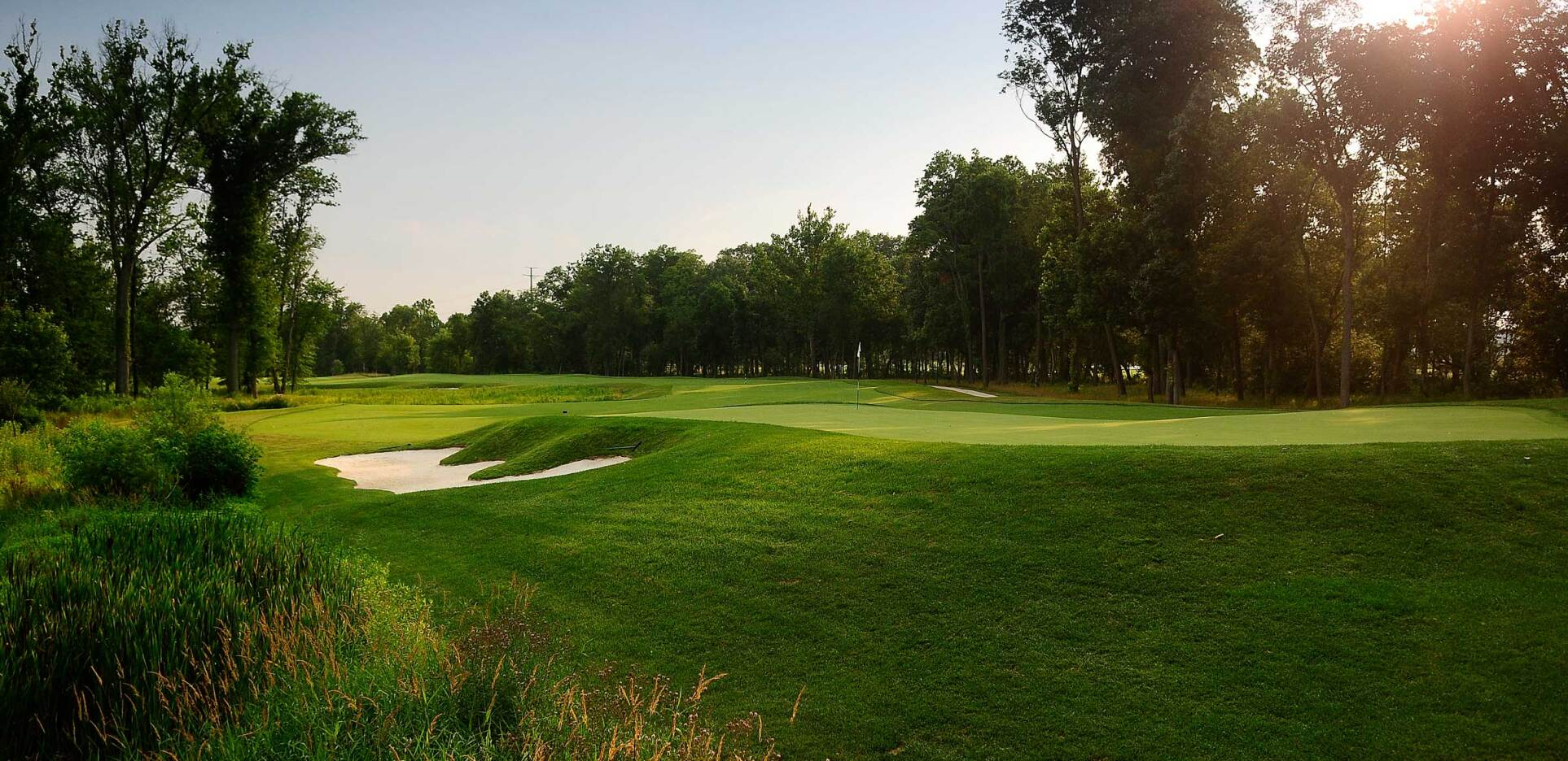 1757 Golf Club, 18 hole golf course in Dulles Virginia a suburb of Northern Virginia