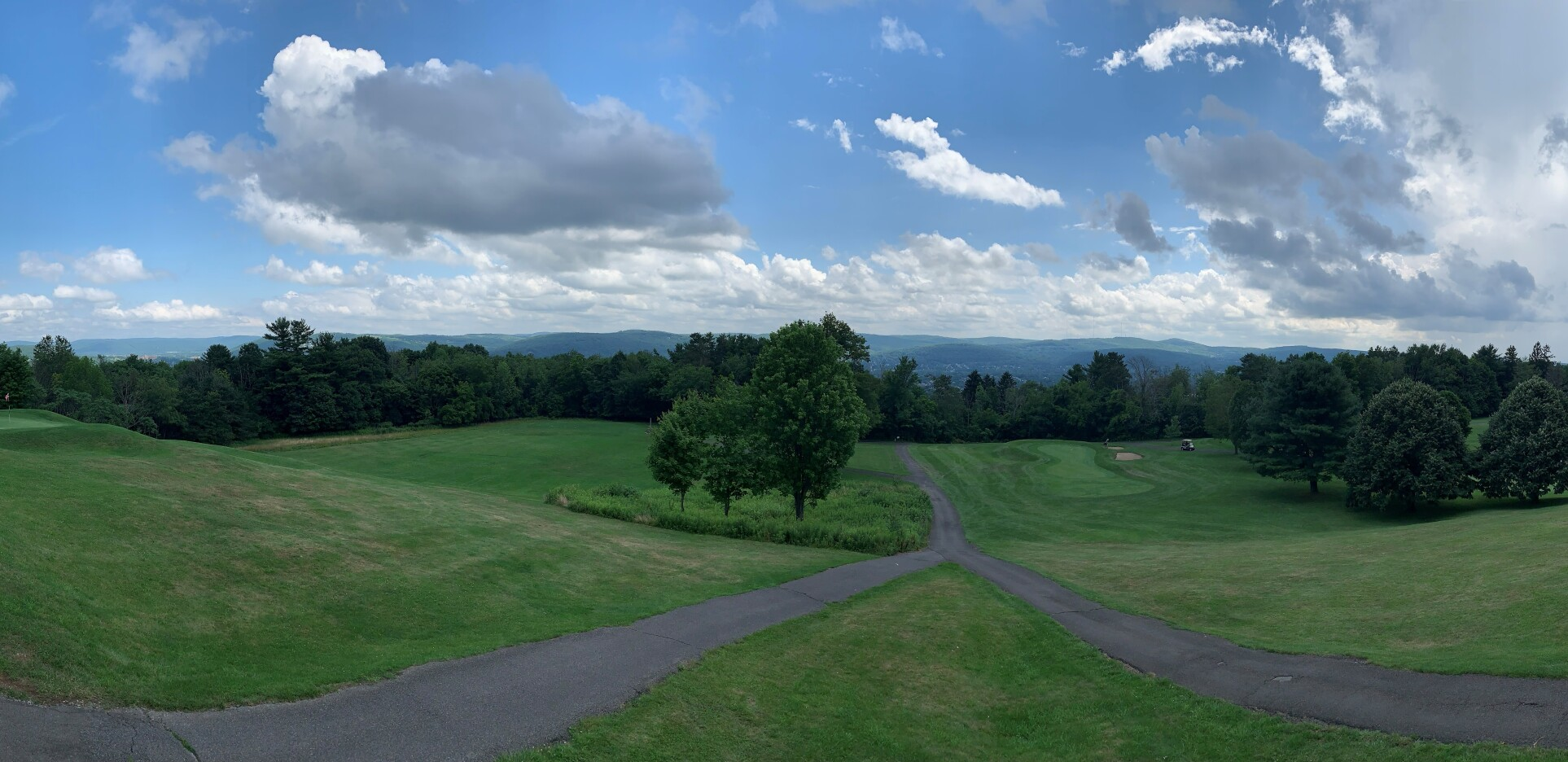 scenic view of Ely Golf Park