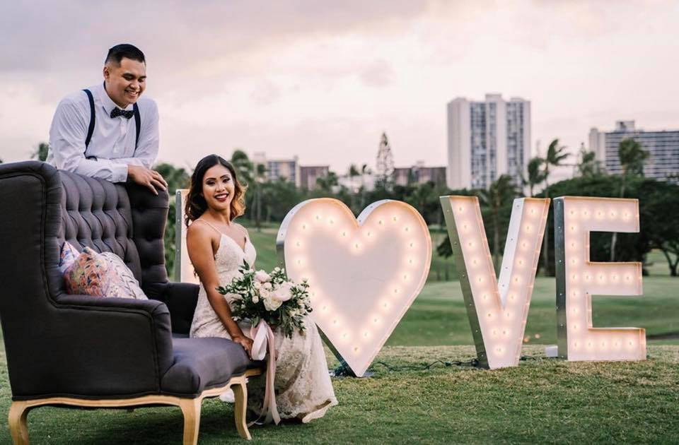 wedding at Pearl Country Club