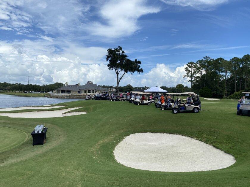 Golf Carts at St. Johns