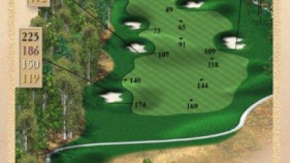 Brickshire Golf Club - golf course description for hole 14