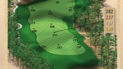 Brickshire Golf Club - golf course description for hole 17