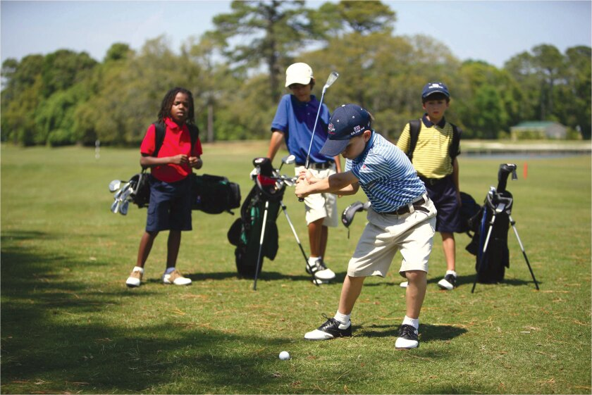 Junior Golf, Kids Playing Golf
