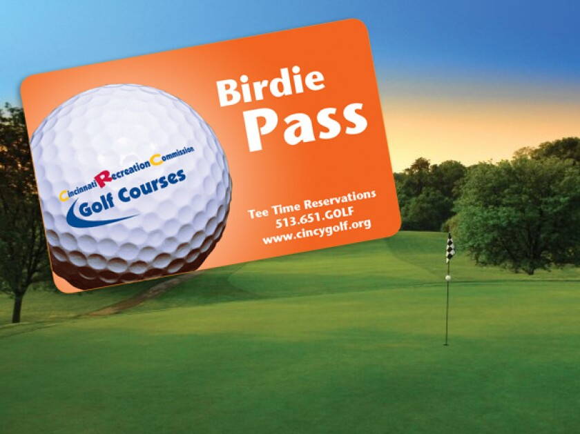 Birdie Pass at CRC Golf Courses