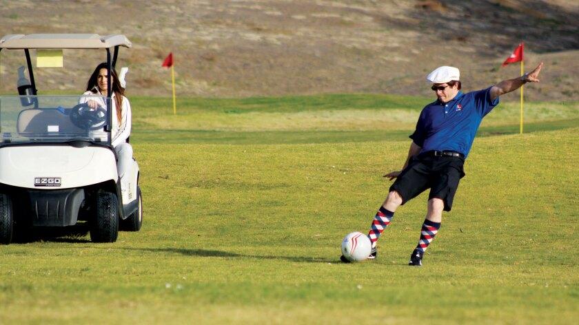 Professional FootGolf Golfer